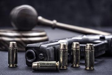 Gun firearm law justice court