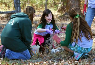 Saving trees, growing lives: Hamilton Christian Academy students participate in service learning project