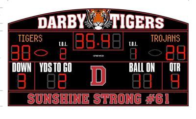 New Darby scoreboard