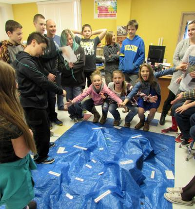 Earth Stewardship Program teaches seventh graders about watershed