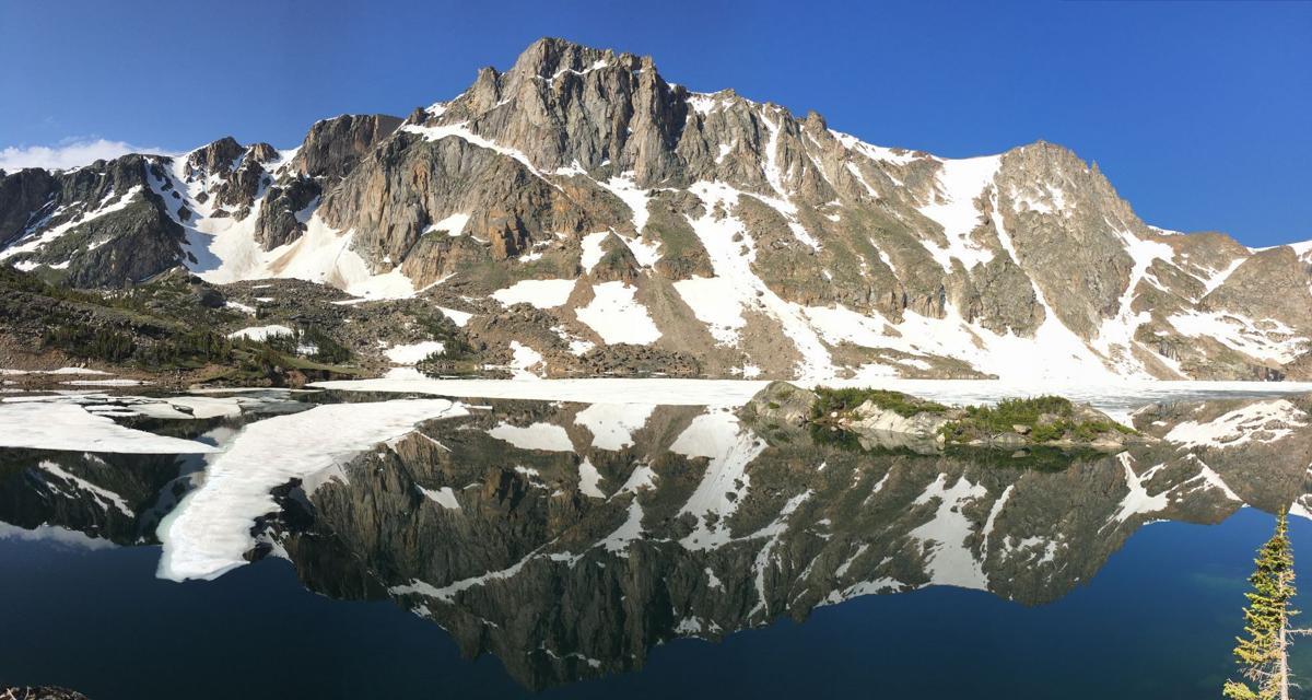 Glacier Lake Beartooth Mountains