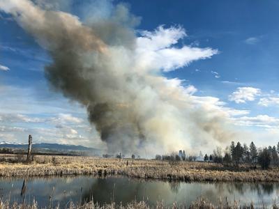 Lee Metcalf Refuge fire