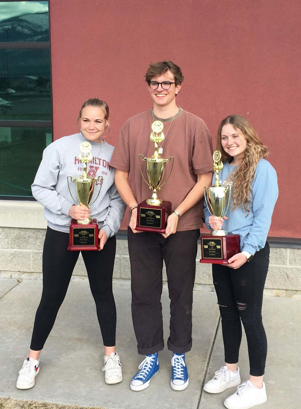 HHS Science Olympiad team earns third straight state championship