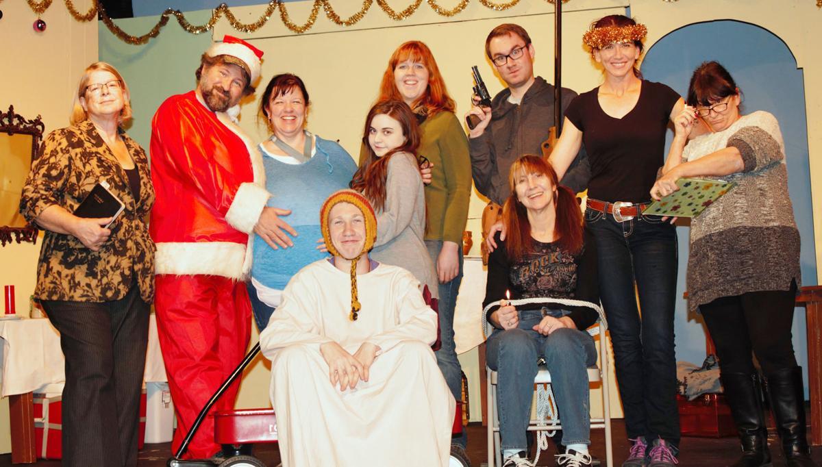 Christmas Belles, cast