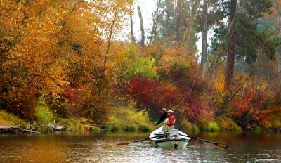 Fall fishing is here