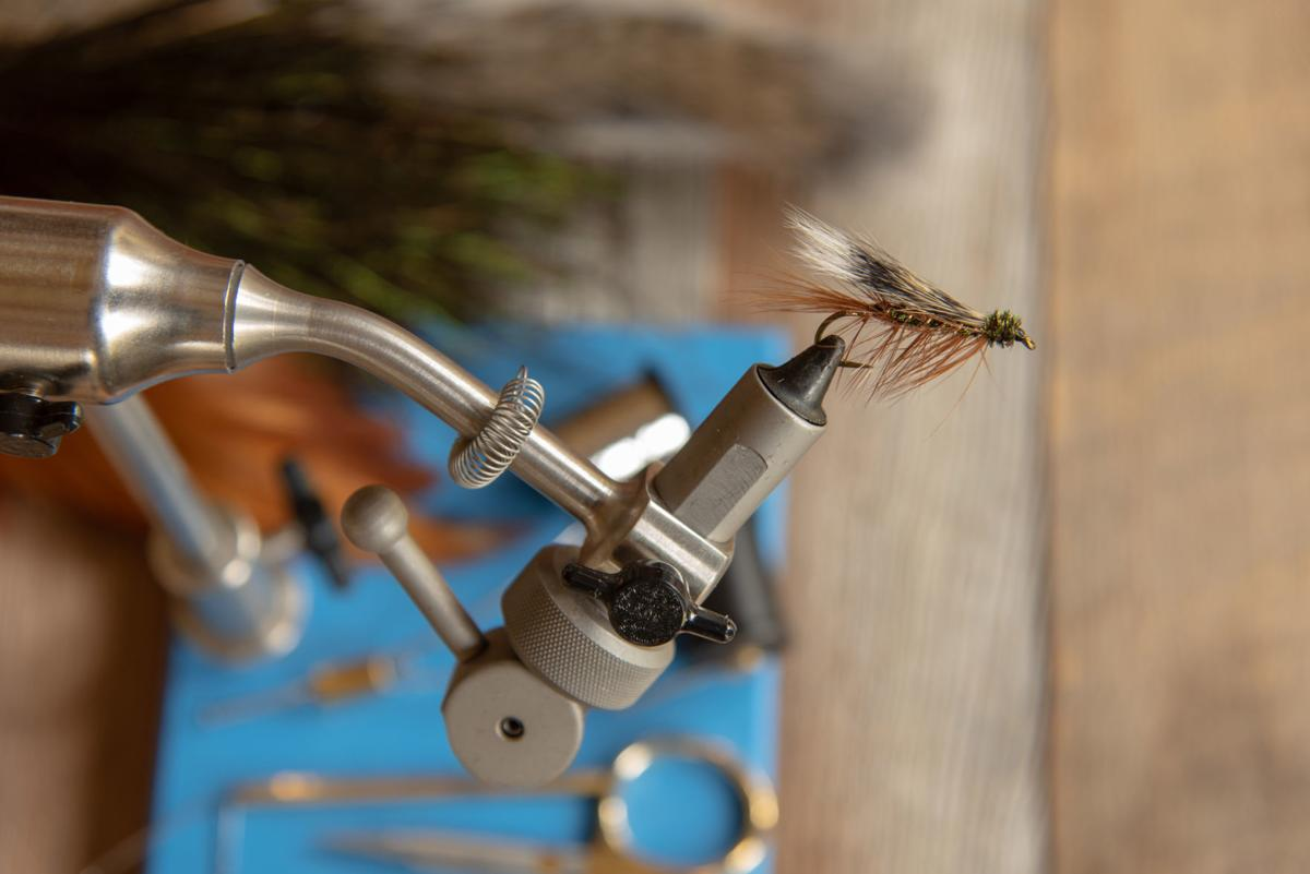 Classic trout fishing wet fly