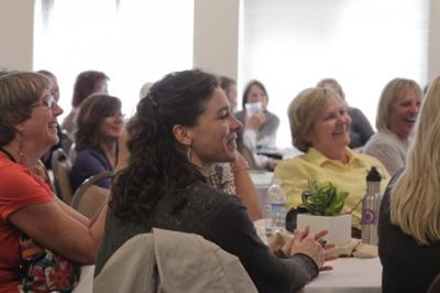Businesswomen gather in Hamilton for conference