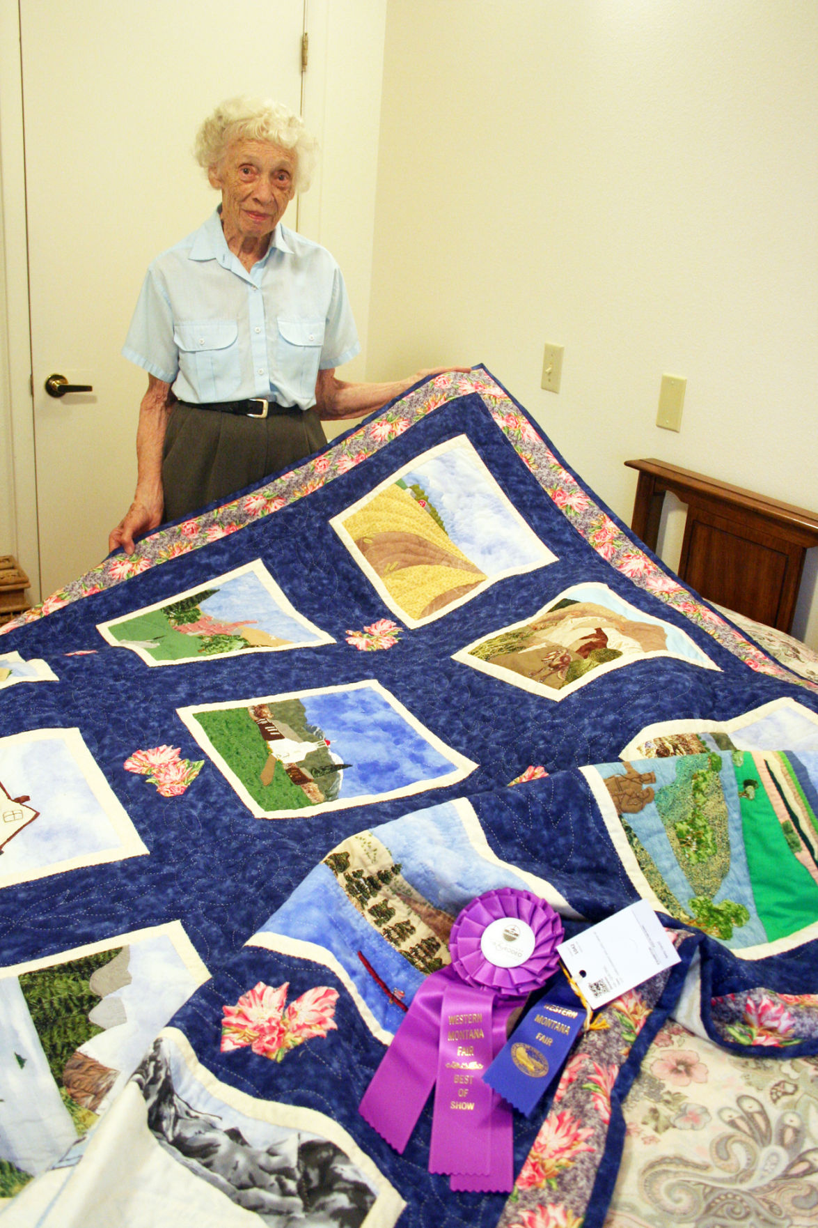Top quilter: Hamilton resident wins best of show at Western Montana Fair