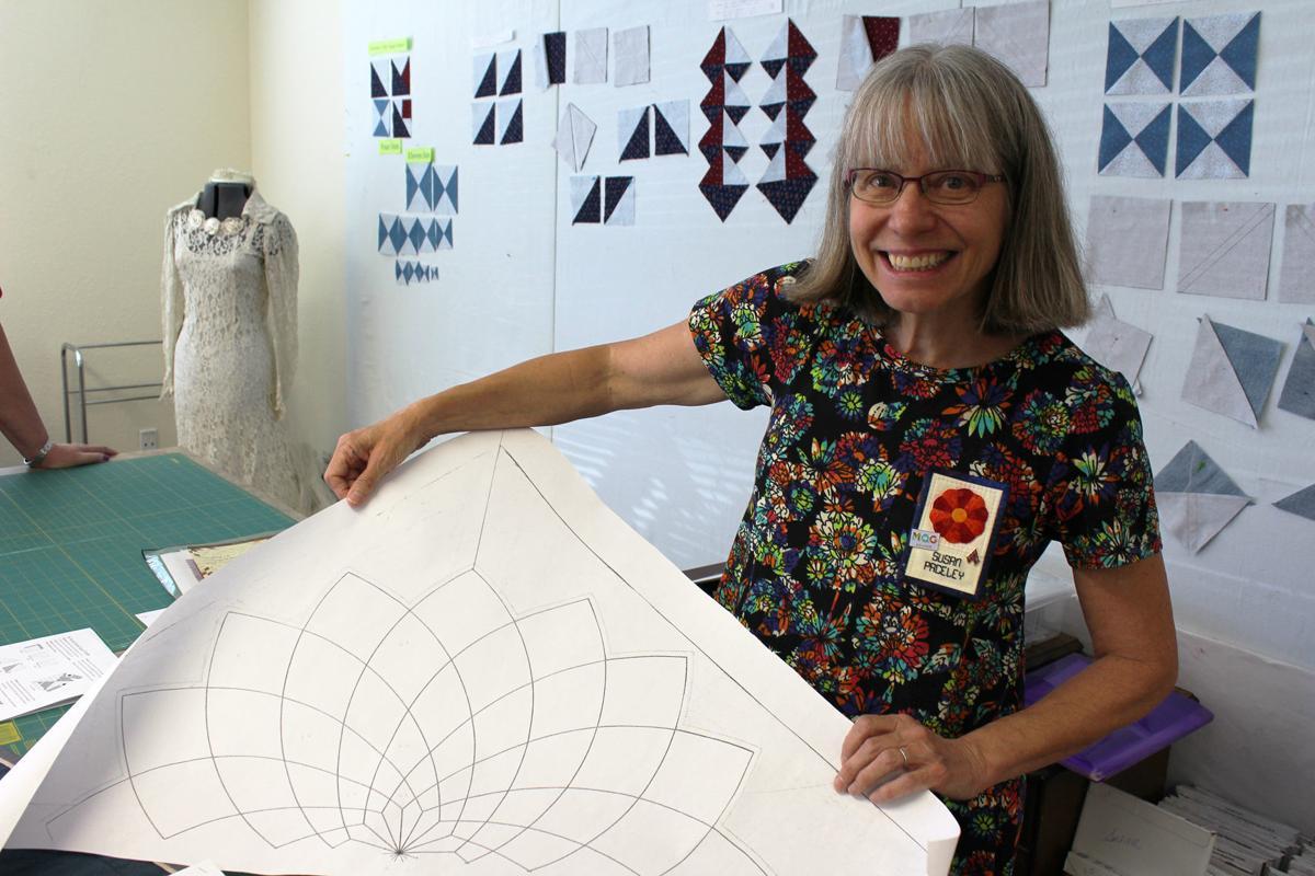 Sue and quilting stitch designs