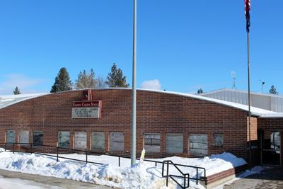 Florence High School with SNOW