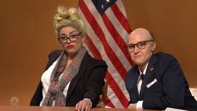 'SNL' returns with 'Rudy Giuliani' and his witnesses contesting the election