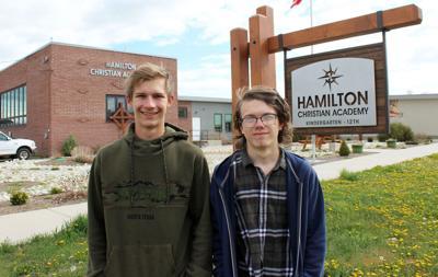 Hamilton Christian Academy graduates two seniors