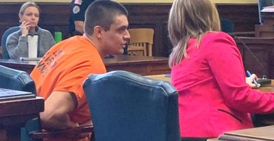 Levi Anderson in court