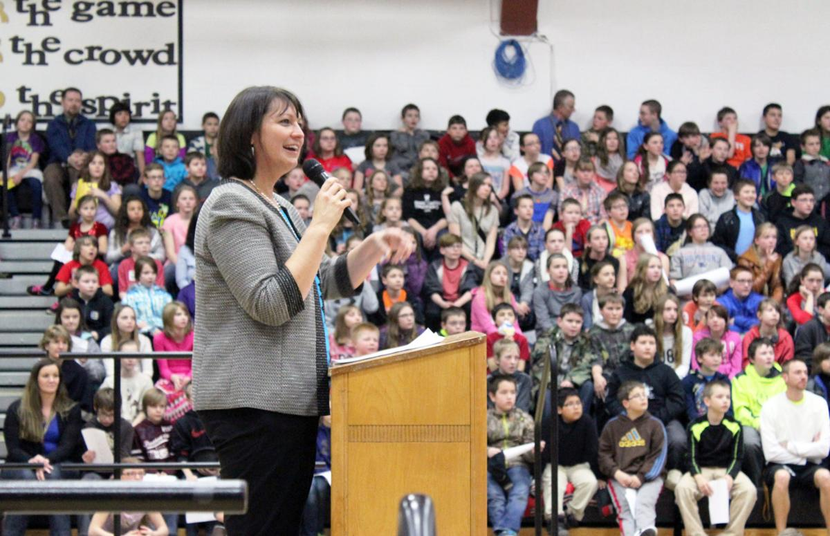 Juneau celebrates Graduation Matters in Stevensville