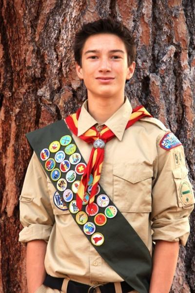 Darby High School sophomore receives Eagle Scout badge