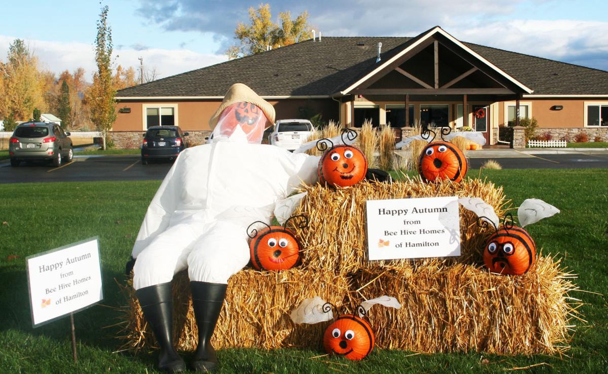 Communities create 'Scarecrow Loop' display