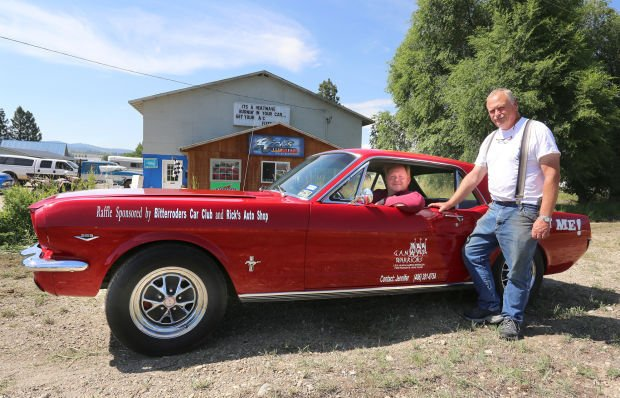 Fundraising Ford: GAN Warriors, Bitterrodders holding raffle of classic muscle car