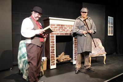 Hamilton Players Watson and Sherlock
