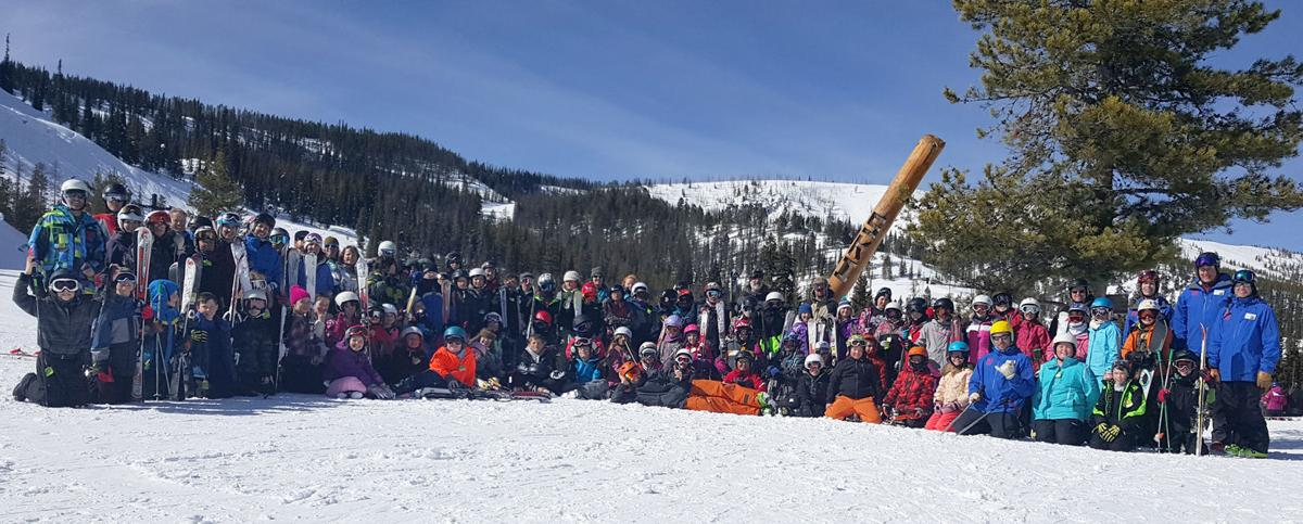 Daly Elementary students get ski lessons at Lost Trail