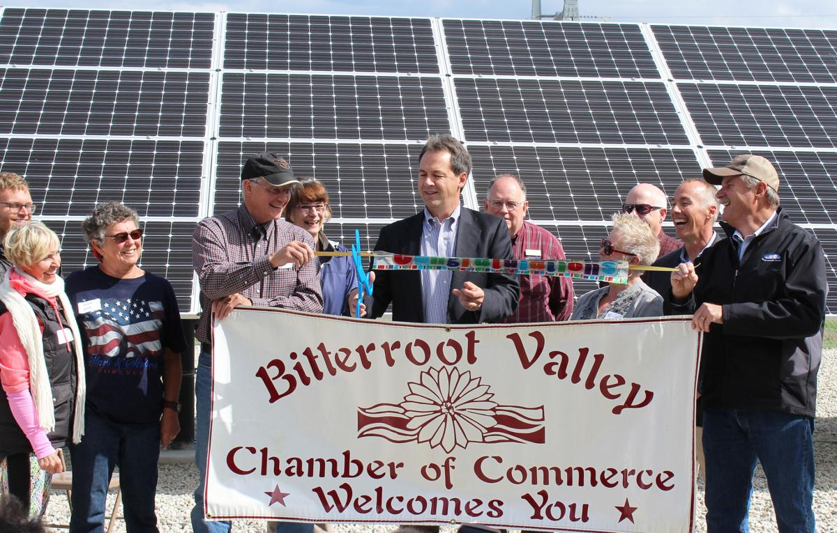 Clean energy: Governor attends REC Valley Solar project ribbon cutting