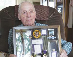 WWII soldier 'lucky to be here'