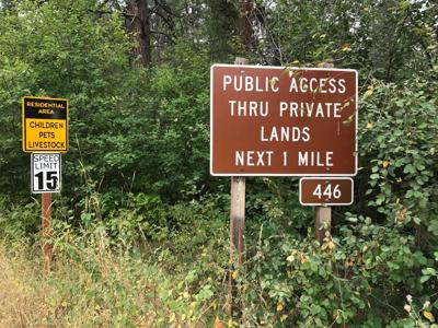 Ruling dismisses requested public closure of Robbins Gulch Road