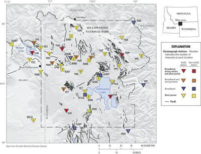 Yellowstone seismic network
