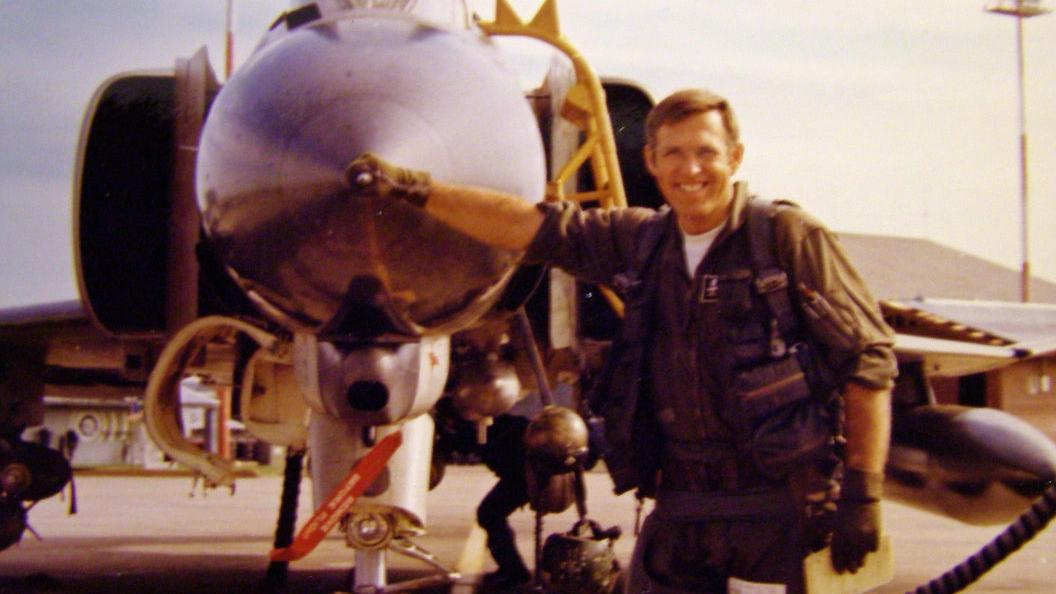 Ron Bates served three tours as an Air Force pilot in Vietnam