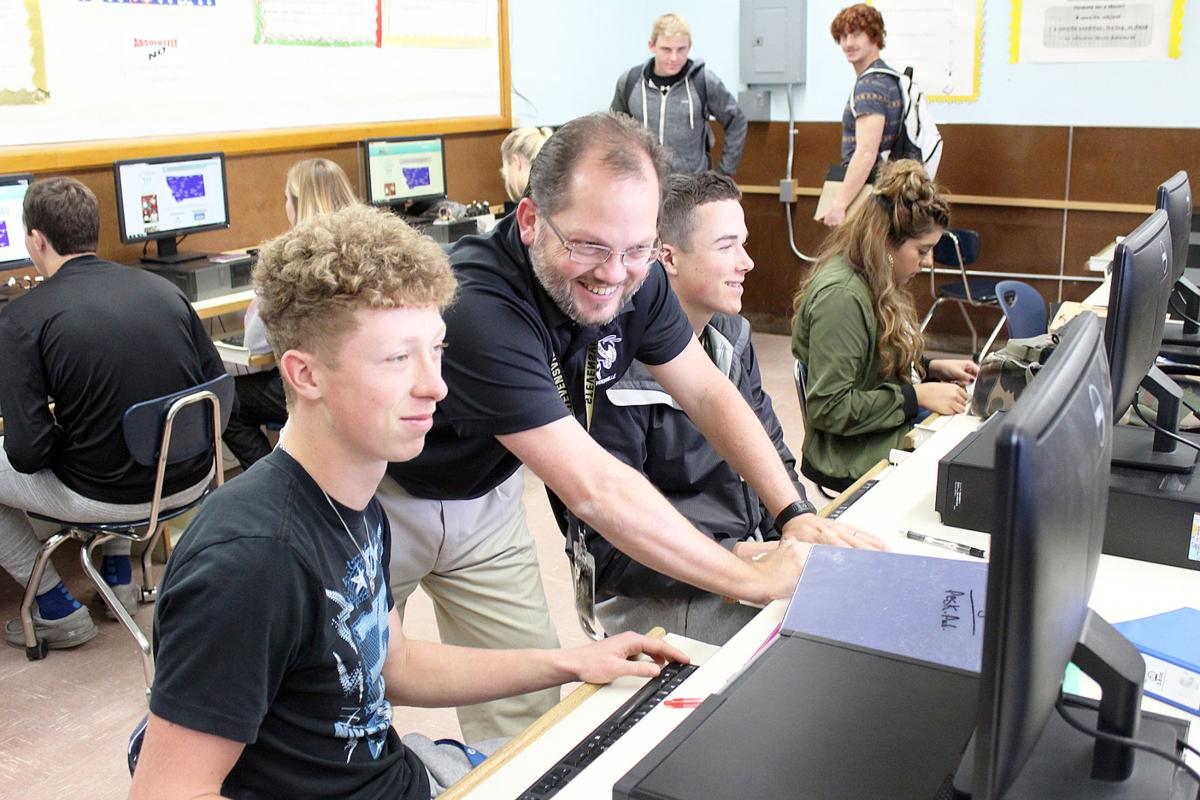 Ty Thall and Liam Lecoure,  Steven Coop, Montana College Application Week