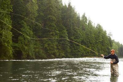 It's peak fly fishing season