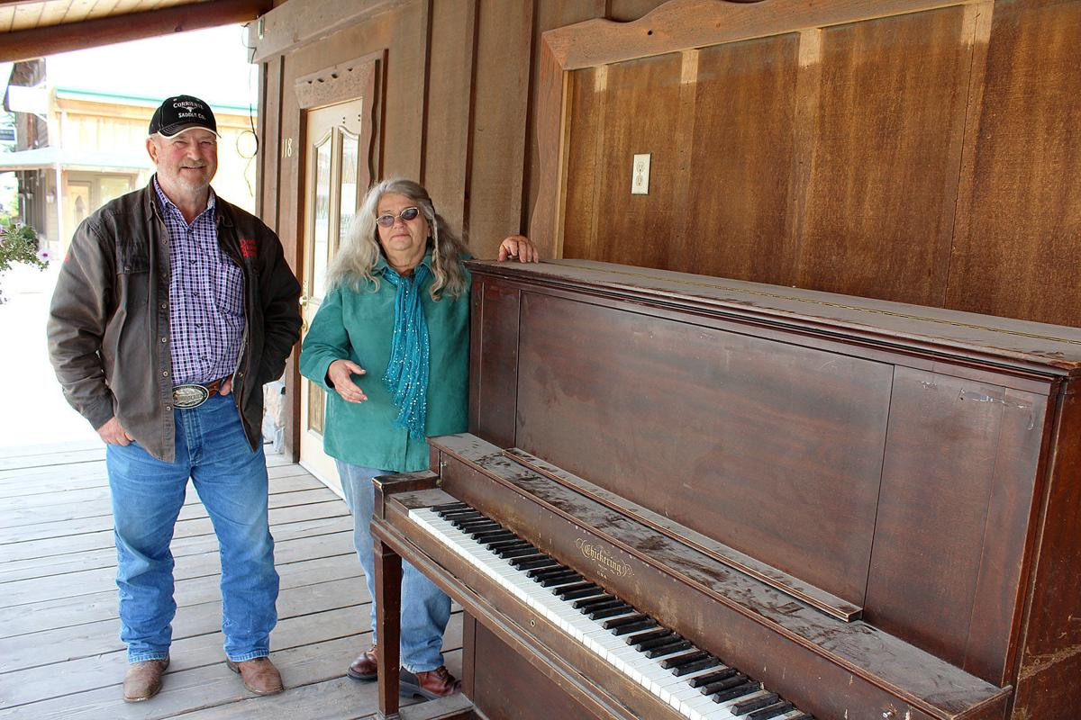 Darby Piano Cal and Julie
