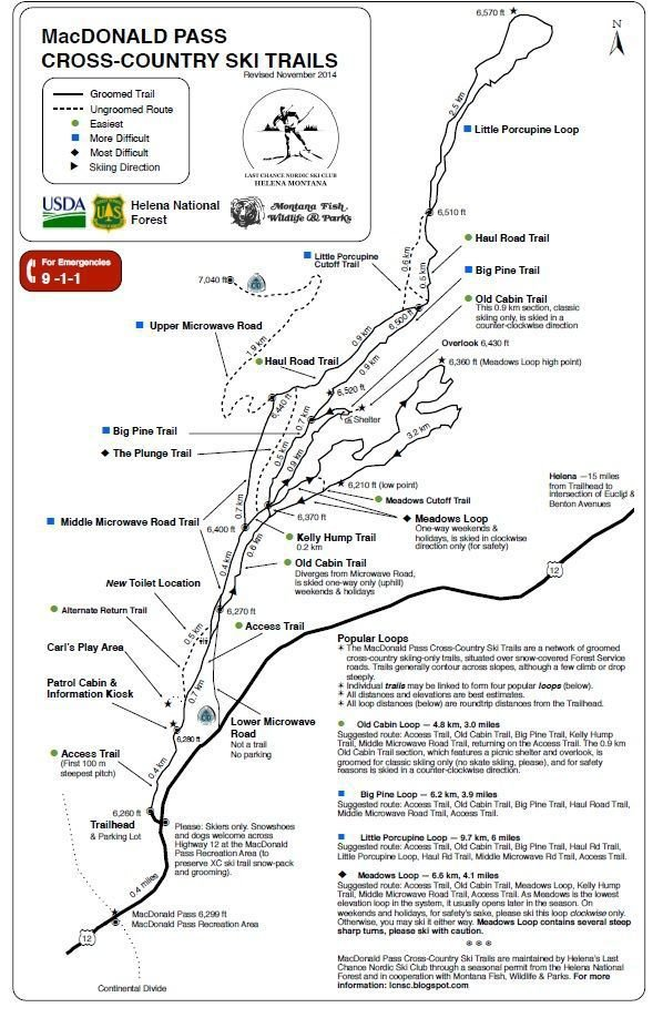 MacDonald Pass map