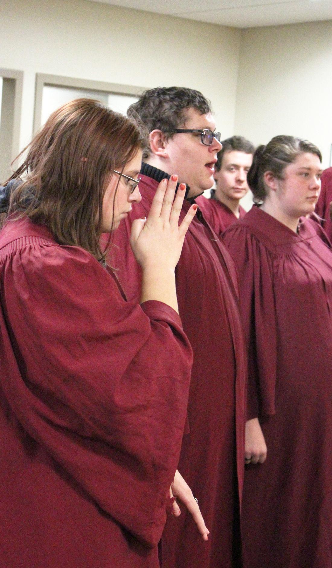 TCJC Choir sign language