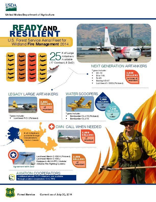 Firebomber fleet infographic