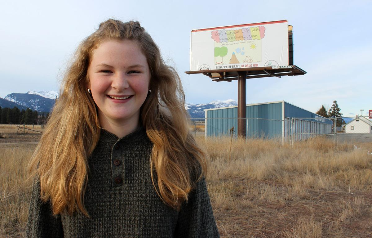 Billboard features art by local student thanks to RC DUI Taskforce