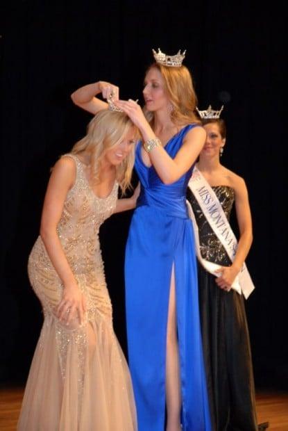 Corvallis' Tayrn Chuter crowned Miss Montana 2011