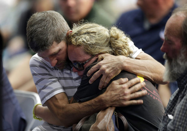 APTOPIX Firefighters Killed