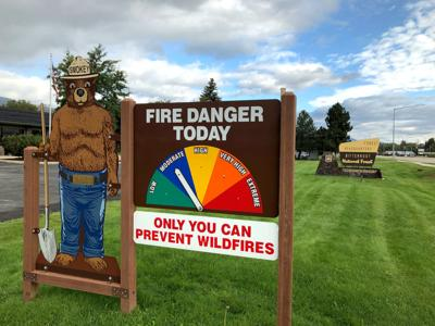 Fire danger drops on Bitterroot National Forest