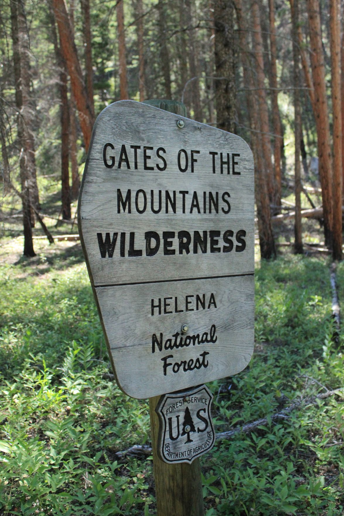 Gates of the Mountains Wilderness