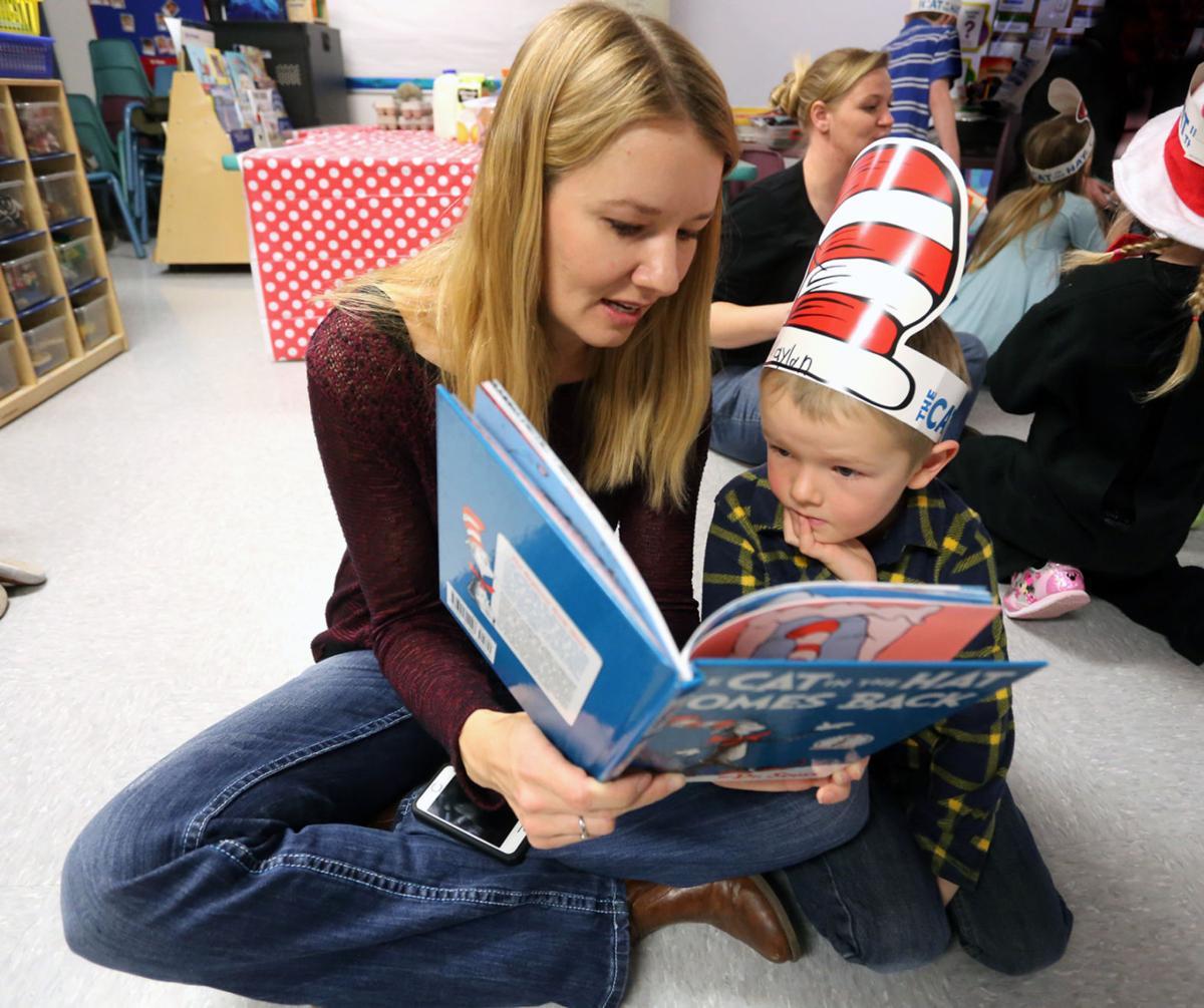 Lone Rock School celebrates Dr. Seuss