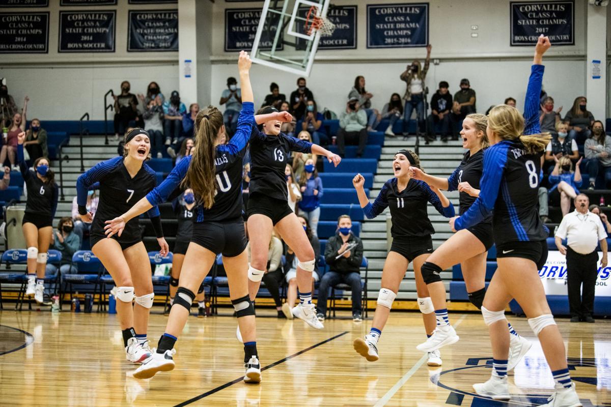 Corvallis volleyball starts season 4-0