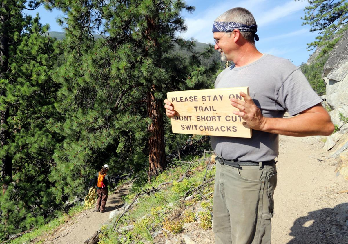 Cutting the switchbacks: Bitterroot Forest trail crew's work undermined by errant hikers