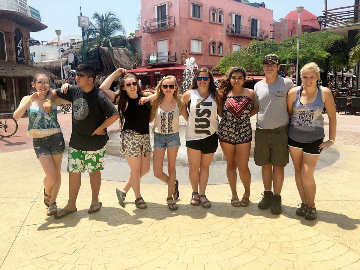 Stevensville Spanish students travel to Mexico
