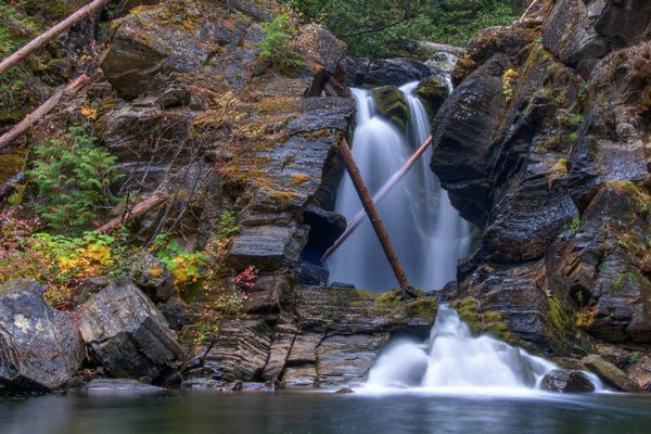 West Fork of the Yaak Falls