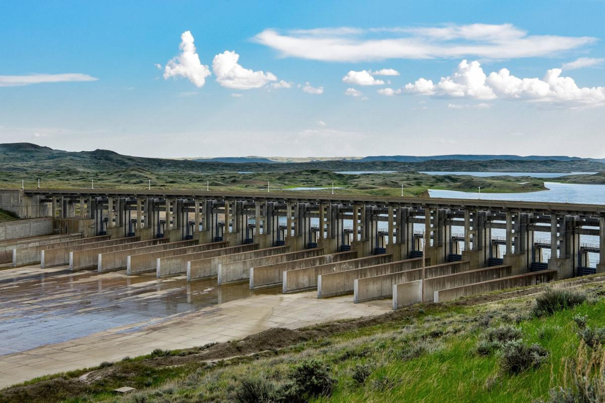 Fort Peck Spillway