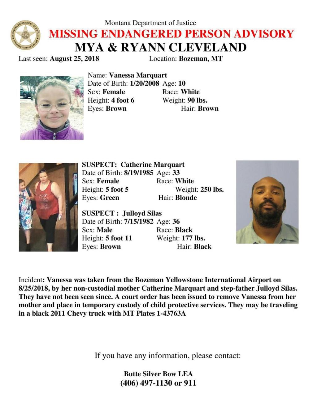 Alert issued for missing girl, age 10 | State & Regional