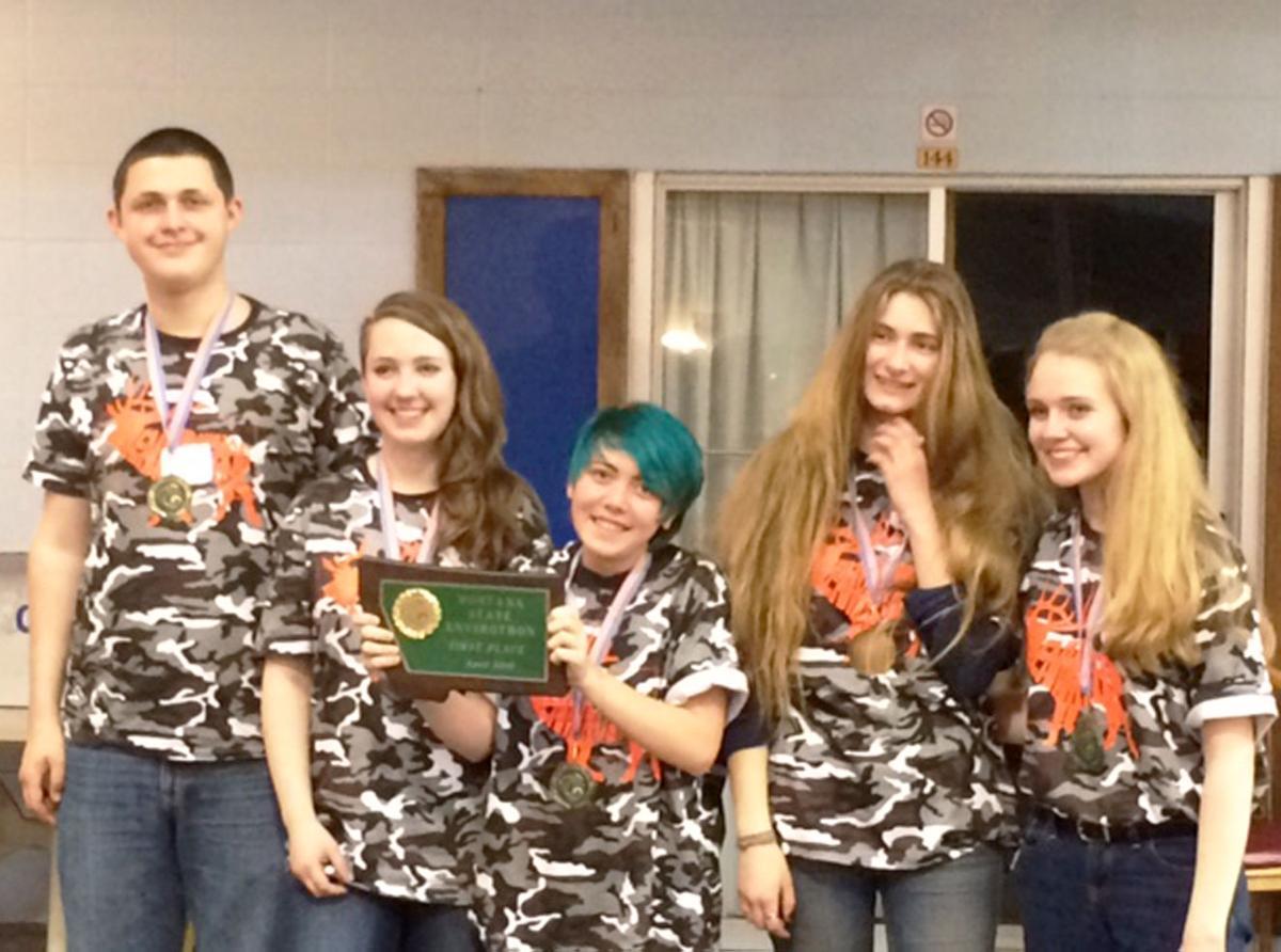 Hamilton High School team wins state Envirothon title
