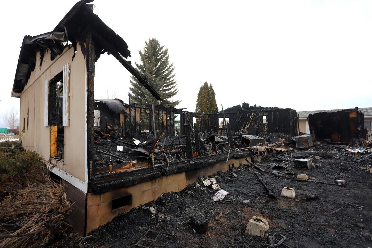 Fire destroys Lone Rock area home