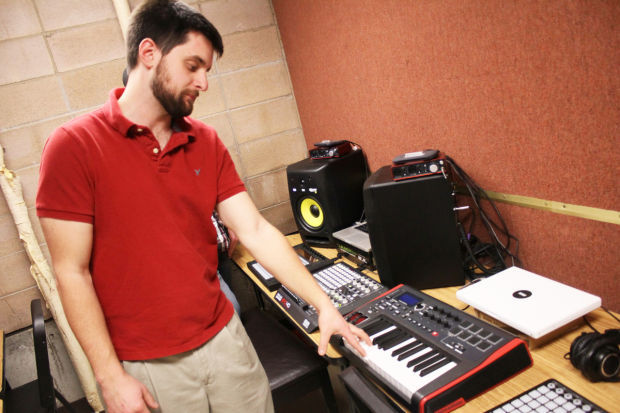 Making music: Darby teacher builds electronic production studio in classroom