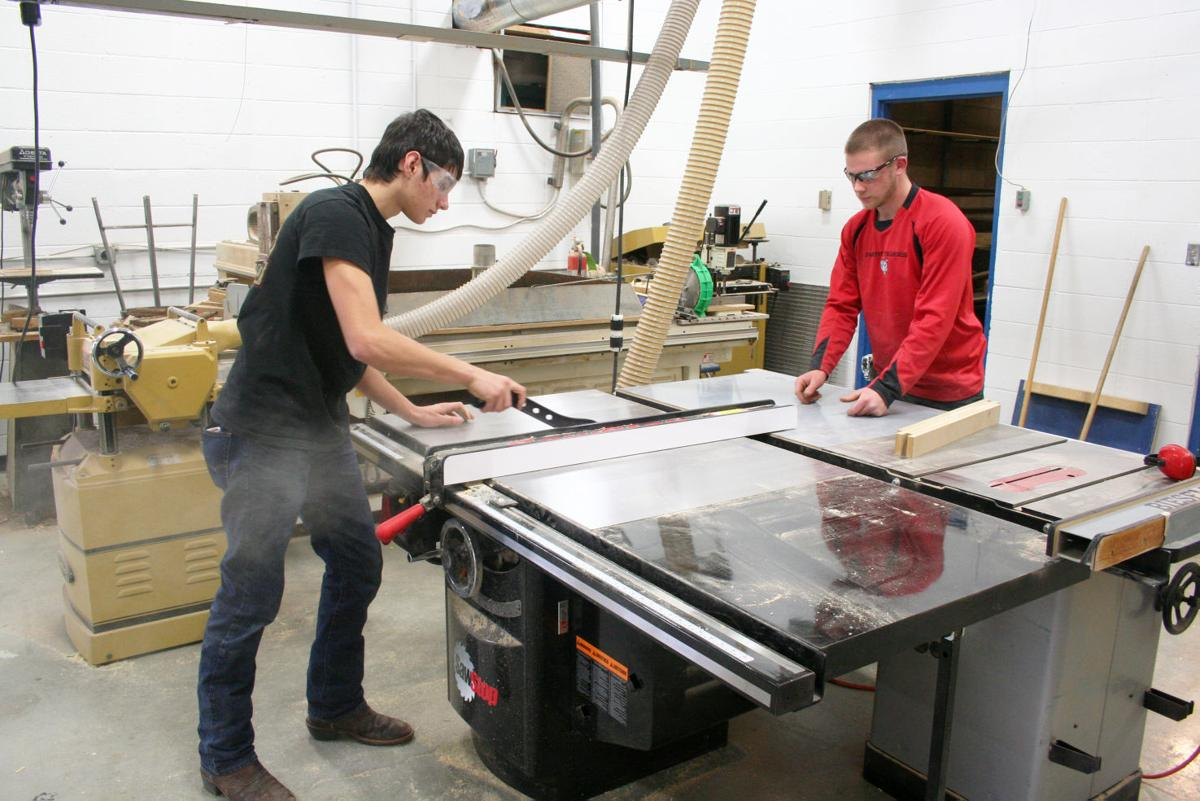 Darby High School buys SawStop table saw